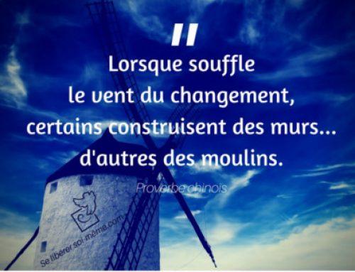 Le changement (une citation inspirante)