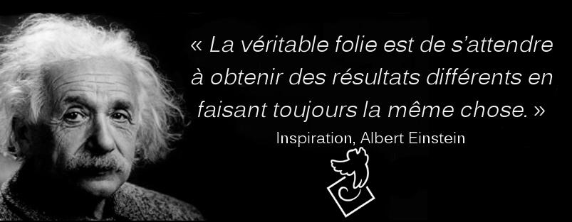 Albert Einstein, un précurseur de la psychologie du changement
