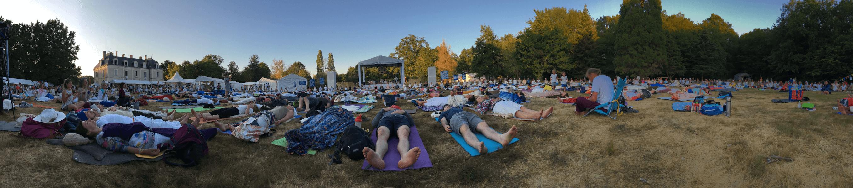Le cercle de guérison du festival 3HO